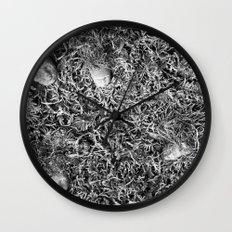 Alien Collective B & W Wall Clock