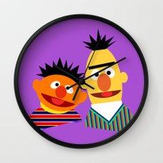Ernie and Bert Wall Clock