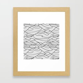 Serpentines Framed Art Print