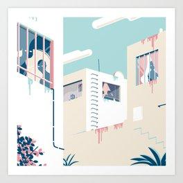 Paranoia I Art Print