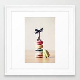 Macarrons Framed Art Print