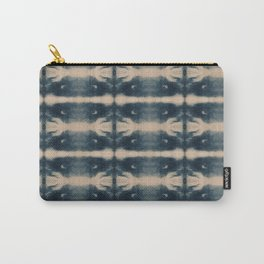 Shibori Bones Carry-All Pouch
