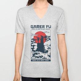 Gamer Fu Unisex V-Neck