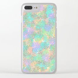 spring daisies tra-la Clear iPhone Case