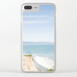 Morning in Santa Barbara Clear iPhone Case