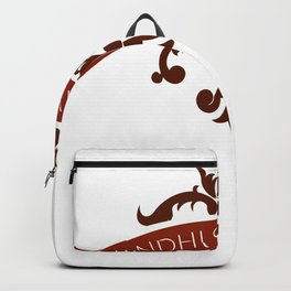 Gandhi Says Relax Backpack