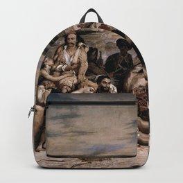 Eugne Delacroix - The Massacre at Chios Backpack