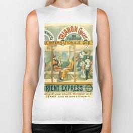 1896 Orient Express Musical Revue Paris Biker Tank