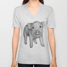 This Little Piggy Unisex V-Neck