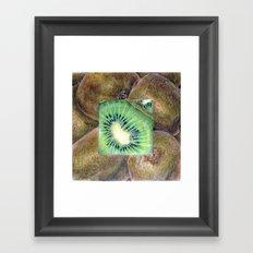 Fresh: Kiwi Framed Art Print