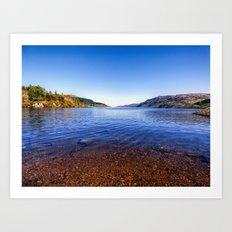 Shore of Loch Ness Art Print