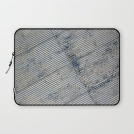 Warehouse District -- Rustic Farm Chic Abstract Laptop Sleeve