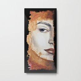 Lady #2 Metal Print