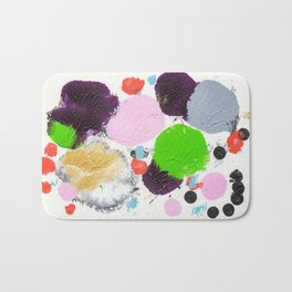 Art abstract 2 Bath Mat