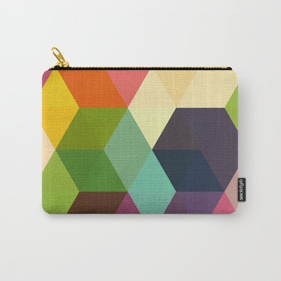 Retro Hexagonzo Carry-All Pouch