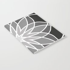 Shades of Grey | Geometric Pattern Notebook