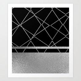 Silverado: Black Art Print