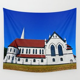 St. Mary's Church side view Wall Tapestry