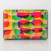 sunglasses iPad Cases featuring Sunglasses by Kaos and Kookies