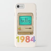 1984 iPhone & iPod Cases featuring 1984 by Laura Wood