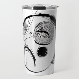 'Face III' Travel Mug