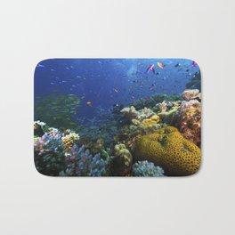 Coral Sea Photo Print Bath Mat