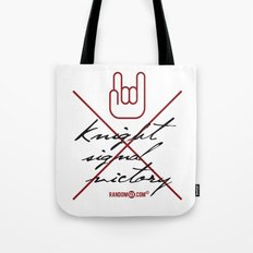 Knight Signal Victory Tote Bag