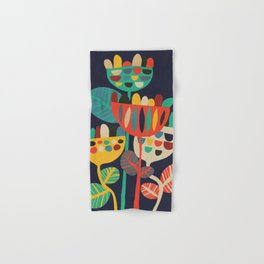 Wild Flowers Hand & Bath Towel