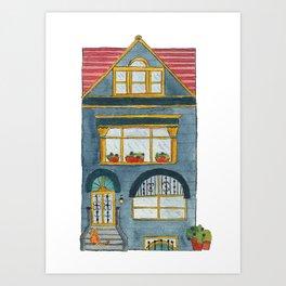 Brooklyn House 3 Art Print