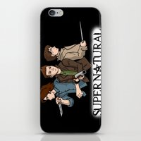 supernatural iPhone & iPod Skins featuring Supernatural by KewlZidane