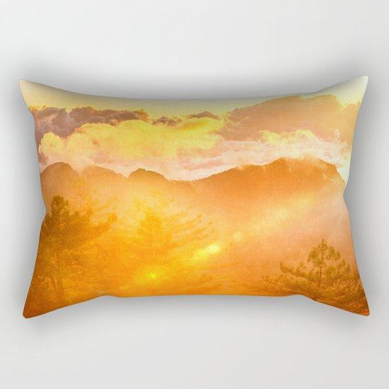 A Brand New Day Rectangular Pillow