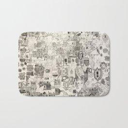 Doodle Bath Mat