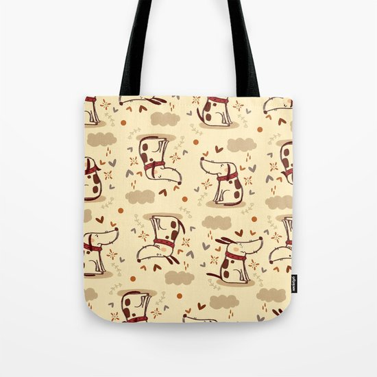 EMOTIONAL DOGGY Tote Bag