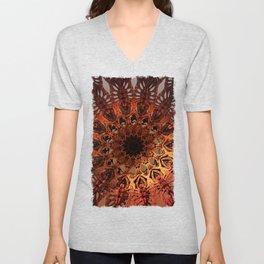 Sun Dial Unisex V-Neck