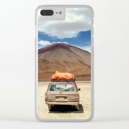 Off to an advanture Clear iPhone Case