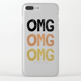 OMG Clear iPhone Case