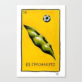 El Chicharito Canvas Print