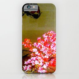 Fish Behind Glass iPhone Case