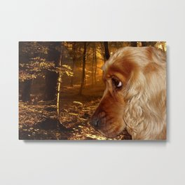 Dog Cocker Spaniel Metal Print