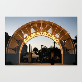 Armstrong Twilight Canvas Print