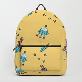 Boys Galaxy Rocket Space Backpack