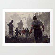 warsaw 44 Art Print