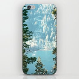 Lake Tahoe Through the Trees iPhone Skin