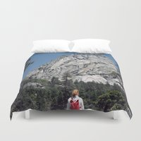 yosemite Duvet Covers featuring Yosemite by Richard PJ Lambert