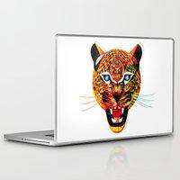 jaguar Laptop & iPad Skins featuring jaguar by Alvaro Tapia Hidalgo