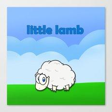 Little lamb Canvas Print