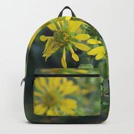 Thin Leaf Sunflowers Backpack
