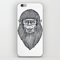 Nerdy Teen Wolf iPhone & iPod Skin