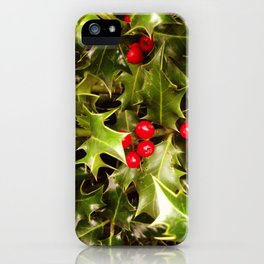 Real Christmas iPhone Case