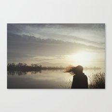 Ser de agua Canvas Print